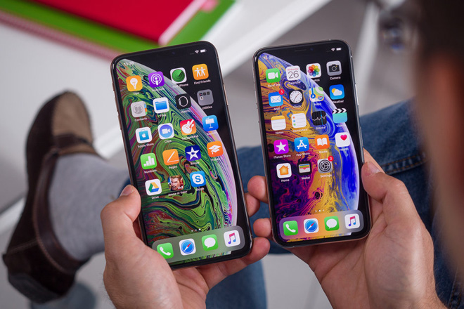 iPhone Xs Max và iPhone Xr 2018.